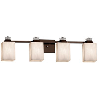 Justice Design CLD-8474-15-DBRZ-LED4-2800 Clouds Ardent LED 33 inch Dark Bronze Bath Bar Wall Light