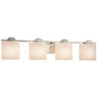 Justice Design CLD-8494-30-NCKL-LED4-2800 Clouds Malleo LED 34 inch Brushed Nickel Bath Bar Wall Light