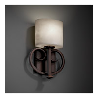 Justice Design CLD-8587-30-NCKL Heritage 1 Light 9 inch Brushed Nickel ADA Wall Sconce Wall Light in Oval, Fluorescent alternative photo thumbnail