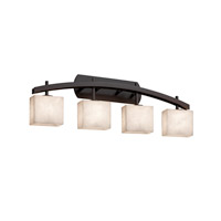 Clouds LED 36 inch Dark Bronze Vanity Light Wall Light in Rectangle, 2800 Lm 4 Light LED