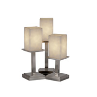 Justice Design Clouds Montana 3-Light Table Lamp in Brushed Nickel CLD-8697-15-NCKL