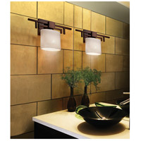 Justice Design CLD-8711-30-DBRZ-LED1-700 Clouds LED 14 inch Dark Bronze ADA Wall Sconce Wall Light in 700 Lm LED Oval
