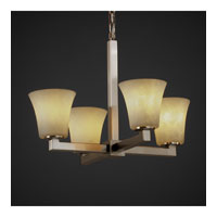 Justice Design Clouds Modular 4-Light Chandelier in Brushed Nickel CLD-8829-20-NCKL photo thumbnail