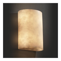 Justice Design Clouds Ada Large Cylinder Wall Sconce CLD-8858