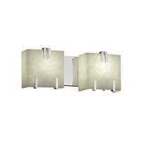 Clouds 2 Light 16 inch Polished Chrome Bath Light Wall Light
