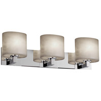 Justice Design Clouds Modular 3-Light Bath Bar in Polished Chrome CLD-8923-30-CROM