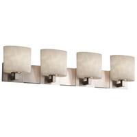 Justice Design CLD-8924-30-NCKL-LED4-2800 Clouds LED 35 inch Brushed Nickel Bath Bar Wall Light Modular