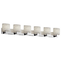 Justice Design Clouds Modular 6-Light Bath Bar in Polished Chrome CLD-8926-30-CROM