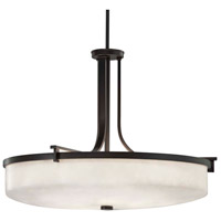 Justice Design CLD-8982-CROM Clouds 6 Light 27 inch Polished Chrome Pendant Ceiling Light in Incandescent