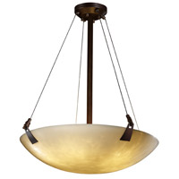 Clouds 6 Light 21 inch Dark Bronze Pendant Bowl Ceiling Light in Round Bowl