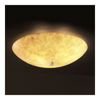 Justice Design CLD-9672-35-NCKL Clouds 6 Light 21 inch Brushed Nickel Semi-Flush Bowl Ceiling Light in Round Bowl photo thumbnail