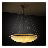 Clouds 8 Light 21 inch Dark Bronze Pendant Bowl Ceiling Light