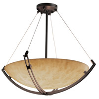 Clouds 12 Light Dark Bronze Pendant Bowl Ceiling Light