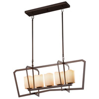 CandleAria 5 Light 14 inch Chandelier Ceiling Light