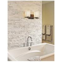 Justice Design CNDL-8492-19-CREM-DBRZ CandleAria Malleo 2 Light 15 inch Dark Bronze Bath Bar Wall Light