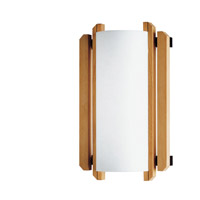 Justice Design Domus Trommel Beech Wood Wall Sconce (Ada) DOM-8309 photo thumbnail