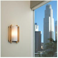 Justice Design Domus Trommel Beech Wood Wall Sconce (Ada) DOM-8309 alternative photo thumbnail