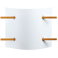 Justice Design Domus Folio Beech Wood Wall Sconce DOM-8320 photo thumbnail