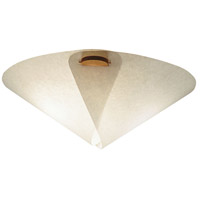Justice Design Domus Large Iris Beech Wood Semi-Flush DOM-8419