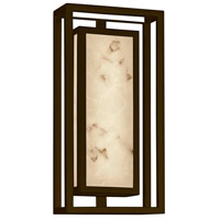 Justice Design FAL-7622W-DBRZ LumenAria Bayview LED 15 inch Dark Bronze Outdoor Wall Sconce