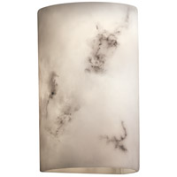 LumenAria 2 Light 6 inch Faux Alabaster Wall Sconce Wall Light
