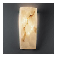 Justice Design FAL-5135 LumenAria 1 Light 6 inch Faux Alabaster ADA Wall Sconce Wall Light photo thumbnail