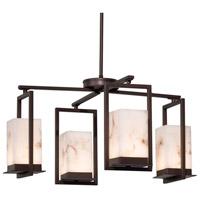 Justice Design FAL-7510W-DBRZ Lumenaria LED 25 inch Dark Bronze Chandelier Ceiling Light