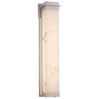 Justice Design FAL-7546W-NCKL Lumenaria LED 7 inch Brushed Nickel Wall Sconce Wall Light