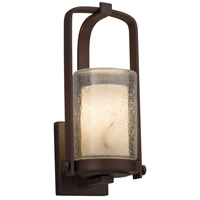 Justice Design FAL-7581W-10-DBRZ-LED1-700 Lumenaria LED 13 inch Outdoor Wall Sconce in 700 Lm LED Dark Bronze