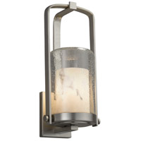 Justice Design FAL-7581W-10-NCKL-LED1-700 Lumenaria LED 13 inch Outdoor Wall Sconce in 700 Lm LED Brushed Nickel