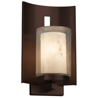 Justice Design FAL-7591W-10-DBRZ Lumenaria 1 Light 13 inch Outdoor Wall Sconce in Dark Bronze Incandescent