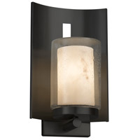 Justice Design FAL-7591W-10-MBLK Lumenaria 1 Light 13 inch Outdoor Wall Sconce in Matte Black Incandescent