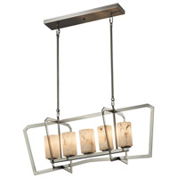 LumenAria 5 Light 14 inch Chandelier Ceiling Light