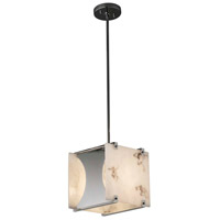 Justice Design FAL-8030-CROM Lumenaria 1 Light 10 inch Polished Chrome Pendant Ceiling Light in Incandescent