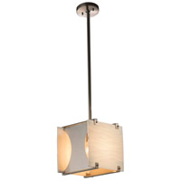 Justice Design FAL-8030-NCKL Lumenaria 1 Light 10 inch Brushed Nickel Pendant Ceiling Light in Incandescent