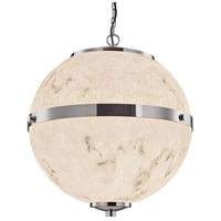 Justice Design FAL-8041-CROM-LED8-5600 LumenAria Imperial LED 25 inch Polished Chrome Chandelier Ceiling Light