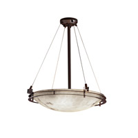 Justice Design Metropolis 6 Light Pendant in Dark Bronze FAL-8122-35-DBRZ