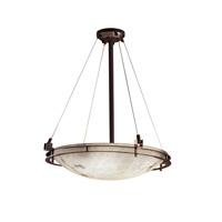 Justice Design FAL-8122-35-NCKL-LED5-5000 LumenAria LED 28 inch Brushed Nickel Pendant Ceiling Light in 5000 Lm LED