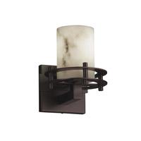 Justice Design LumenAria 1 Light Wall Sconce in Dark Bronze FAL-8271-10-DBRZ