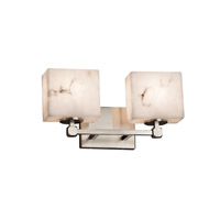 Justice Design Group LumenAria 2 Light Vanity Light in Brushed Nickel FAL-8422-55-NCKL