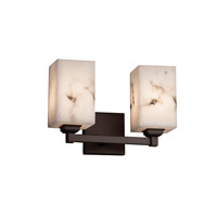 Justice Design Group LumenAria 2 Light Vanity Light in Dark Bronze FAL-8432-15-DBRZ