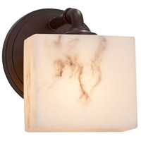 Justice Design FAL-8467-55-CROM LumenAria 1 Light 6 inch Polished Chrome ADA Wall Sconce Wall Light in Rectangle, Incandescent