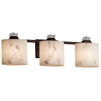 Justice Design FAL-8473-30-DBRZ Lumenaria Ardent 3 Light 26 inch Dark Bronze Bath Bar Wall Light