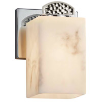 Polished Chrome Metal Lumenaria Wall Sconces
