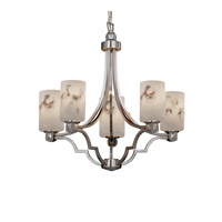 Justice Design LumenAria Argyle 5-Light Chandelier in Brushed Nickel FAL-8500-10-NCKL