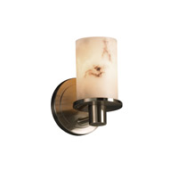 Justice Design LumenAria Rondo 1-Light Wall Sconce in Brushed Nickel FAL-8511-10-NCKL
