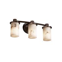 Justice Design FAL-8513-10-DBRZ-LED3-2100 LumenAria LED 20 inch Dark Bronze Bath Bar Wall Light Rondo