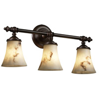 LumenAria 3 Light 23 inch Dark Bronze Bath Bar Wall Light