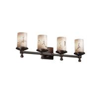 Justice Design FAL-8534-10-DBRZ-LED4-2800 LumenAria LED 29 inch Dark Bronze Bath Bar Wall Light Deco