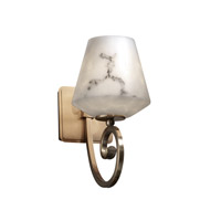 Justice Design LumenAria Victoria 1-Light Wall Sconce in Antique Brass FAL-8571-22-ABRS